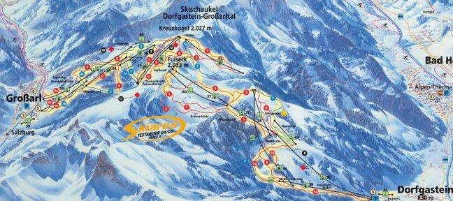 skigebied Grossarl